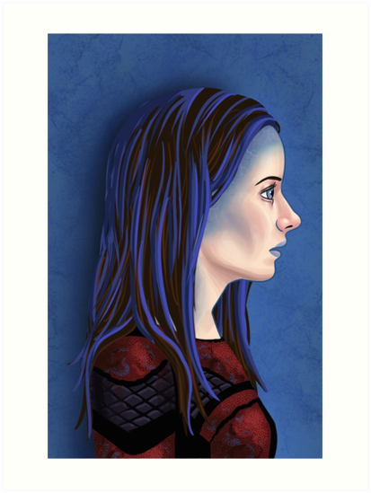 Illyria Portrait by BovaArt