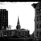 Baltimore Skyline by Robert Randle