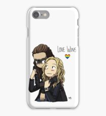 Clexa Love Wins iPhone Case/Skin