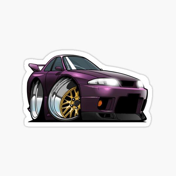 Nissan Skyline R33 GTR Sticker
