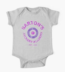 Barton's Archery Academy Short Sleeve Baby One-Piece