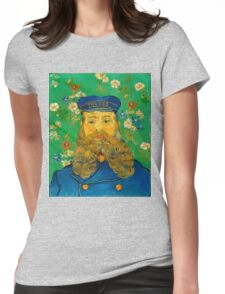 Vincent Van Gogh - Portrait of Joseph Roulin, 1889 Womens Fitted T-Shirt