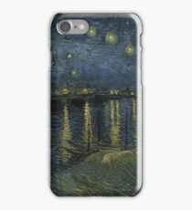 Vincent Van Gogh - Starry Night, Impressionism .Starry Night, 1888 iPhone Case/Skin