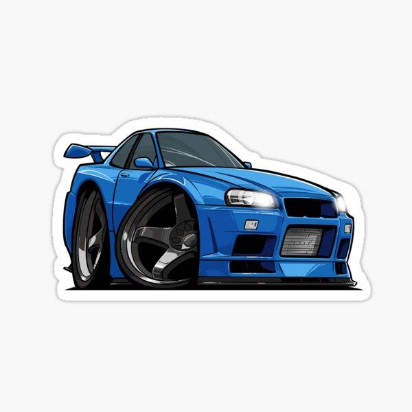 Nissan Skyline R34 GTR Sticker