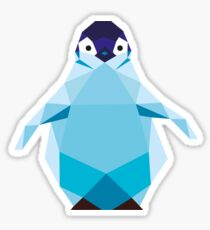Geometric Penguin Sticker