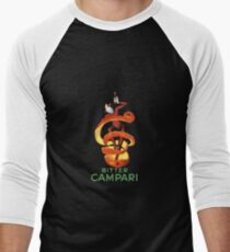 Campari Men's Baseball ¾ T-Shirt