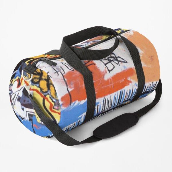 best seller basquiat untitled skull Duffle Bag