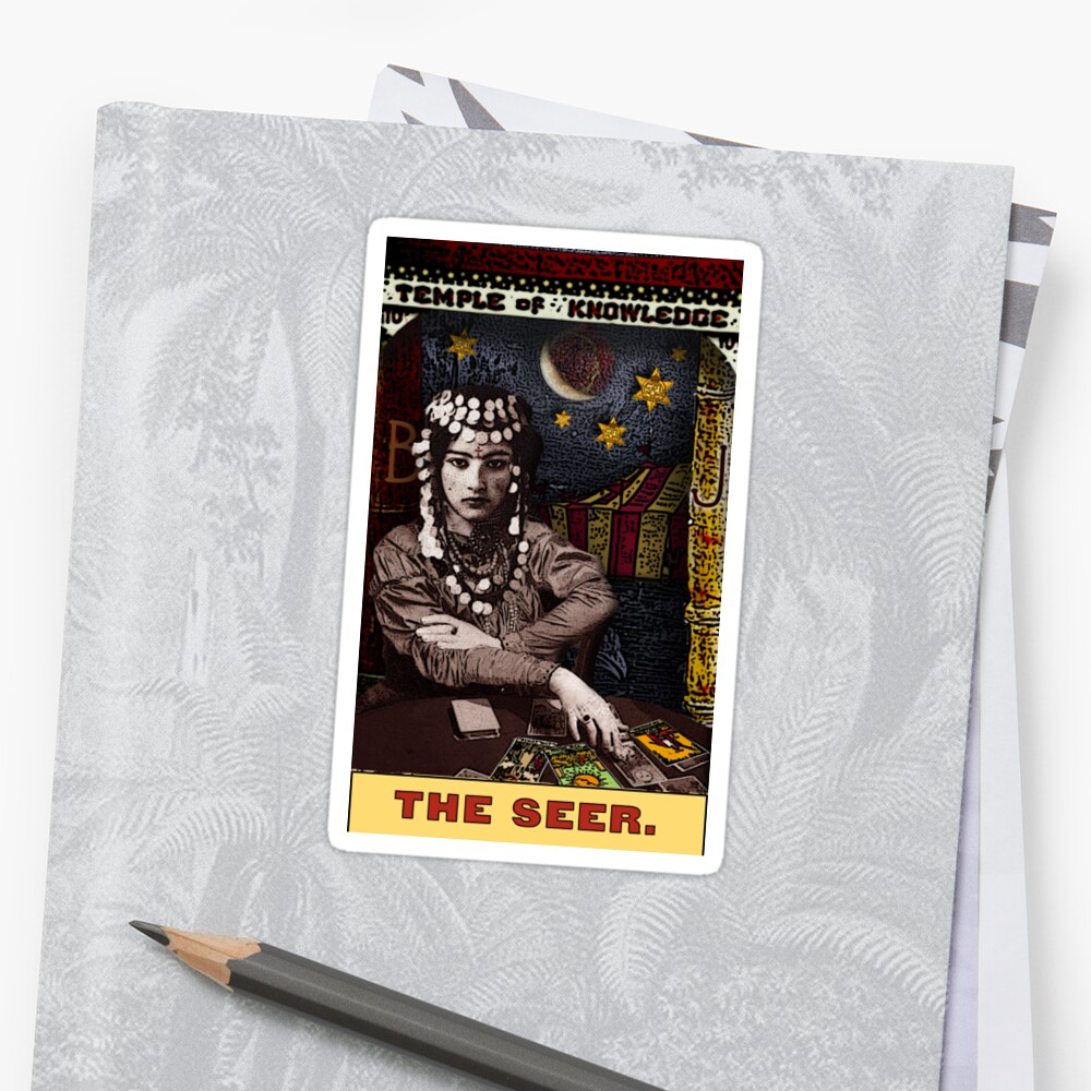 The Seer: from the Tarot of the Zirkus Mägi by DuckSoupDotMe