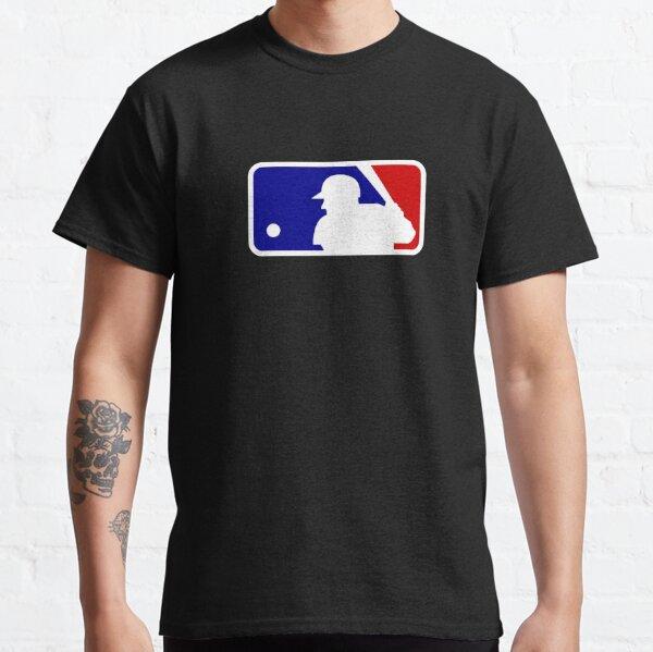 dolanan bal kasti logo mlb jaman disik Classic T-Shirt