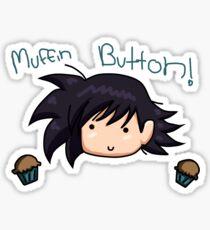 Muffin Button! Sticker