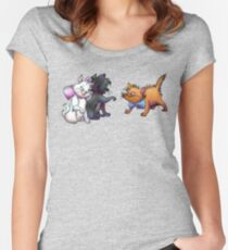 Playing around Women's Fitted Scoop T-Shirt