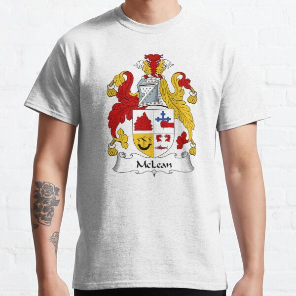 McLean Coat of Arms / McLean Family Crest Classic T-Shirt