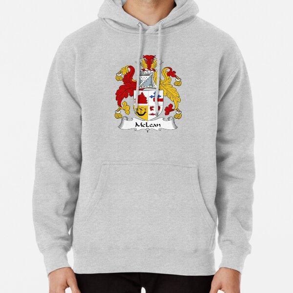 McLean Coat of Arms / McLean Family Crest Pullover Hoodie