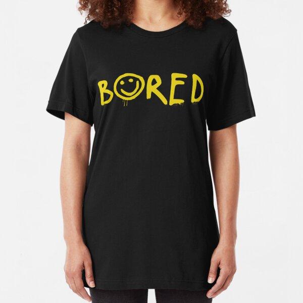 Sherlock - Bored! Slim Fit T-Shirt