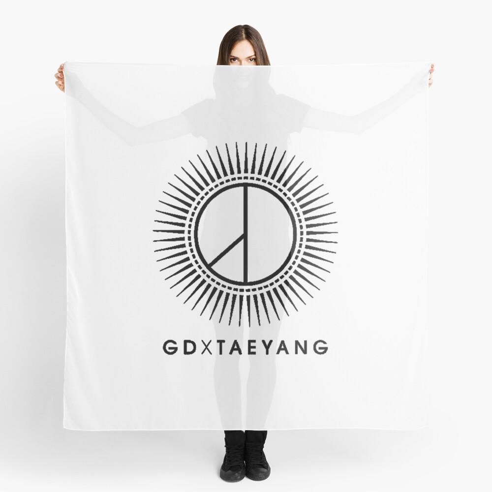 GD X TAEYANG Logo Scarf