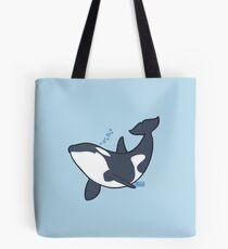 Happy orca Tote Bag