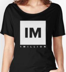 1 Million Dance Studio Logo (weiße Version) Loose Fit T-Shirt
