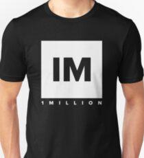 1 MILLION Dance Studio Logo (White Version) T-Shirt