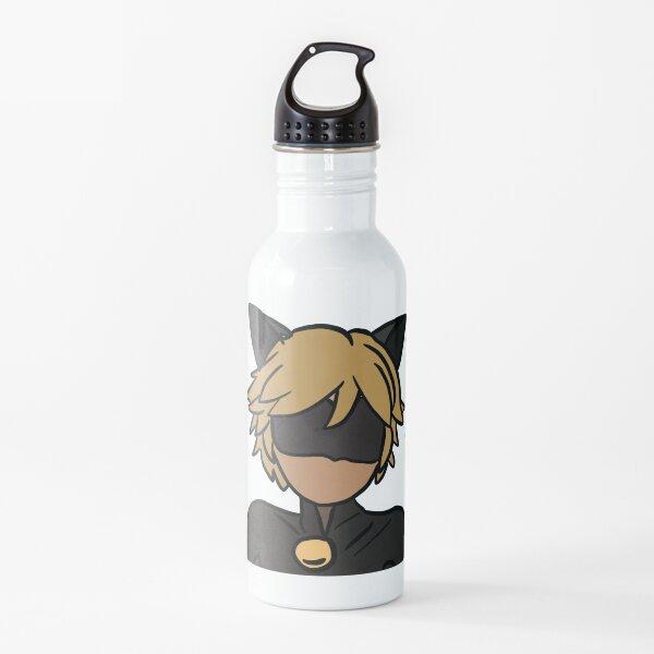 Chat Noir (colour) Water Bottle