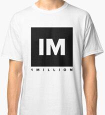 1 MILLION Dance Studio Logo (Black Version) Classic T-Shirt