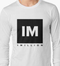 1 MILLION Dance Studio Logo (Black Version) T-Shirt
