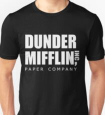 Camiseta unisex Dunder Mifflin