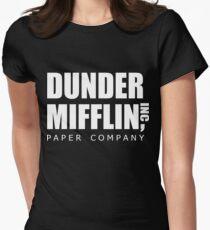 Dunder Mifflin Women's Fitted T-Shirt