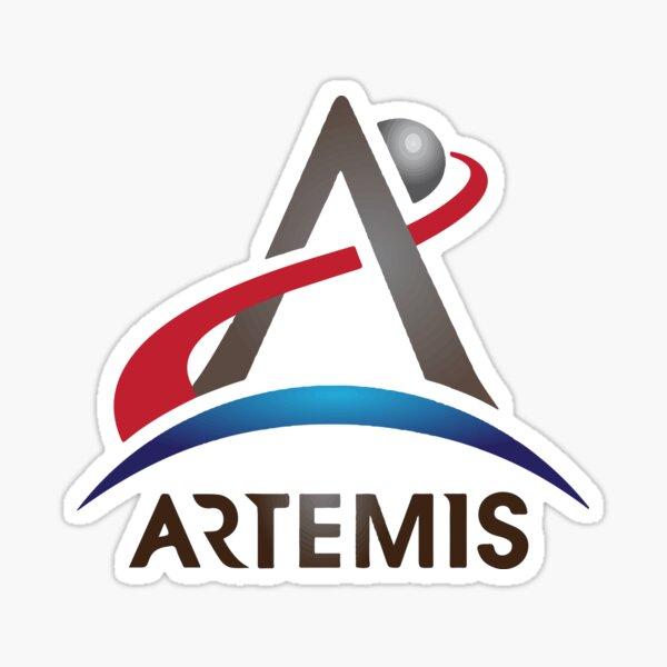 Artemis Nouveau logo officiel de la NASA Sticker