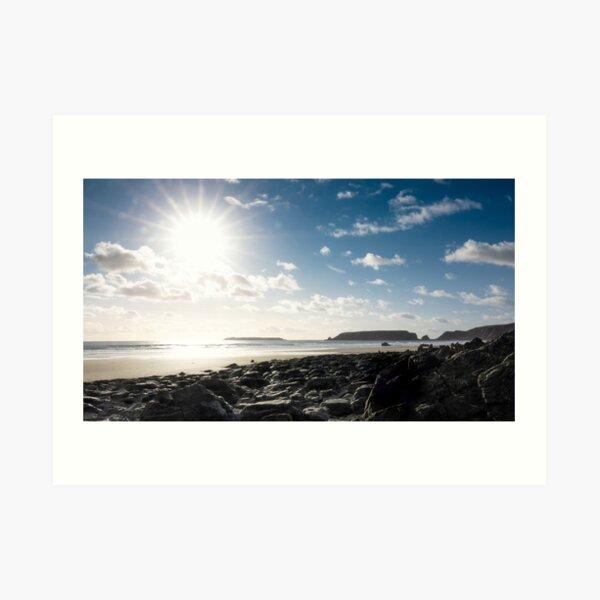 Marloes Sands, Pembrokeshire Art Print