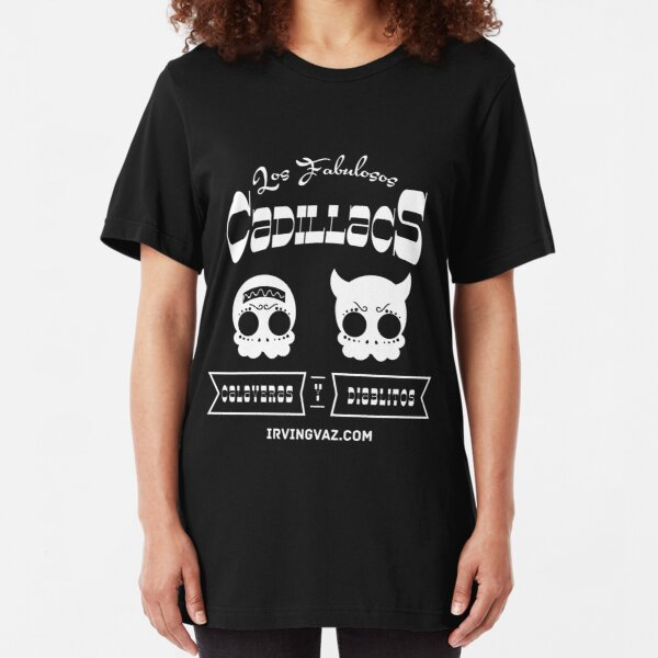 Calaveras y Diablitos Slim Fit T-Shirt