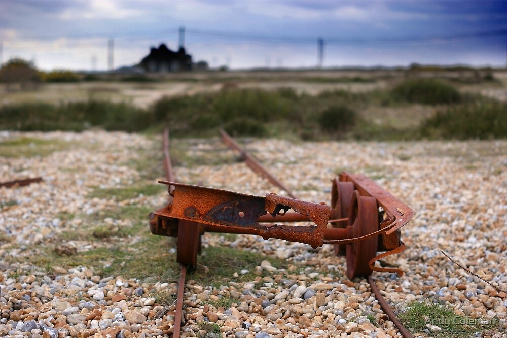Dungeness Through a Prime Lens 02 by Andy Coleman