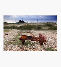 Dungeness Through a Prime Lens 02 Photographic Print