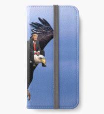 Vinilo o funda para iPhone Trump Riding Eagle