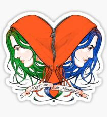 Clementine's Heart Sticker
