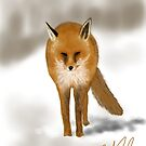 Red Fox by Ray Cassel