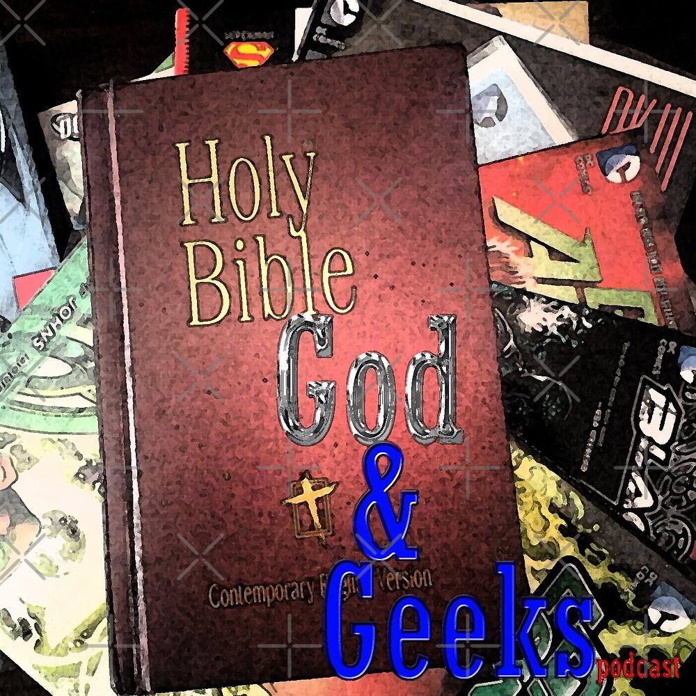 God and Geeks Podcast Logo by RyanJGtz