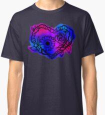 Pixel Tie-Dye Nature Love Wreath Classic T-Shirt