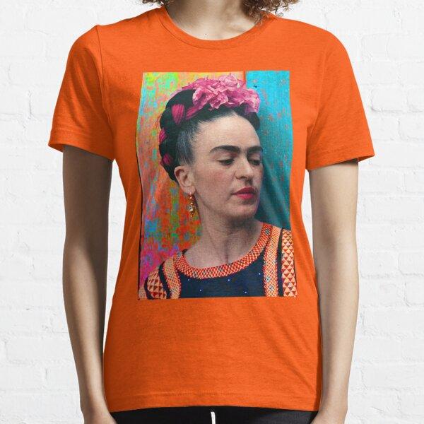 FRIDA KAHLO - Frida Kahlo Portrait Vintage Original POP ART COULEUR T-shirt essentiel