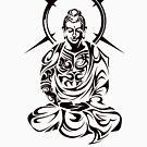Buddha Tribal by TurkeysDesign