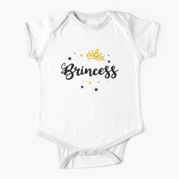 Islander Polynesian BRINCESS Baby Bodysuit, Kids Tees, Youth Tees, Funny Island Design, Adult Tees, Poly Fashion, Cute Tropical Wear Short Sleeve Baby One-Piece