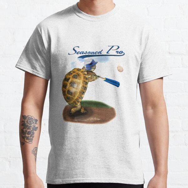 Tortoise Baseball Player - Seasoned Pro Classic T-Shirt
