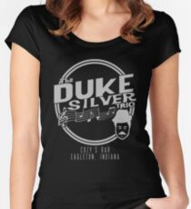 Duke Silver Trio Women's Fitted Scoop T-Shirt