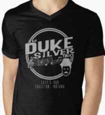 Duke Silver Trio Men's V-Neck T-Shirt