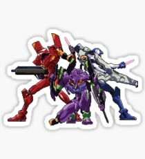 Evangelion: 8bit Genesis  Sticker