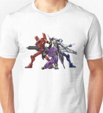 Evangelion: 8bit Genesis  Unisex T-Shirt