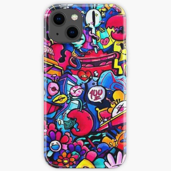 Grafitti Art Gawx iPhone Soft Case
