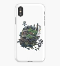 8bit Howl's Moving Castle iPhone Case/Skin