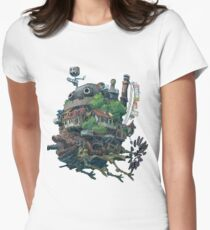 8bit Howl's Moving Castle Women's Fitted T-Shirt
