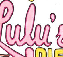 Lulu's Pies Sticker