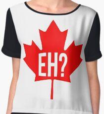 Canadian, eh? Women's Chiffon Top